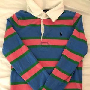 Boys Ralph Lauren Rugby Shirt, size 8/10